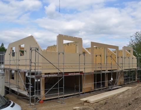 Holzbau Gebäude ZHG Holz & Dach