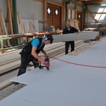 Produktionshalle ZHG Holzbau
