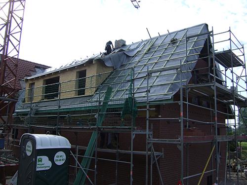 Ausbau aus Holz Dachgeschoss