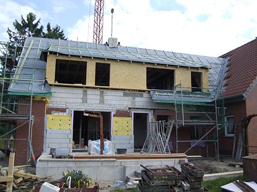 Holz Ausbau Dach