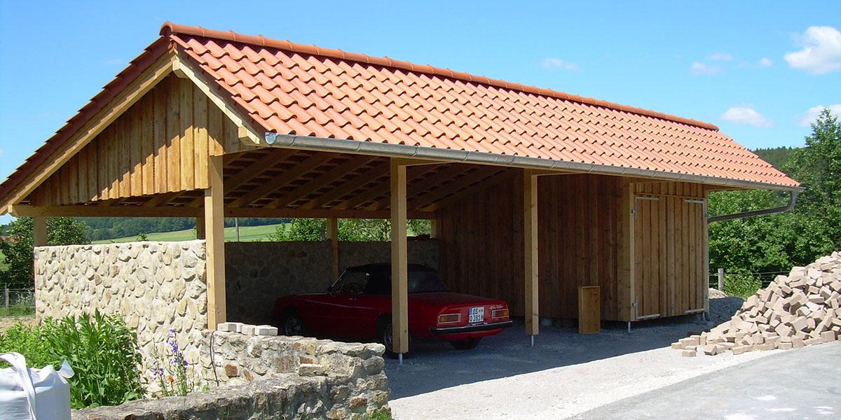 ZHG Holz & Dach Holzbau Carport