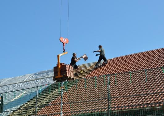 Dachsanierung Wohnhaus