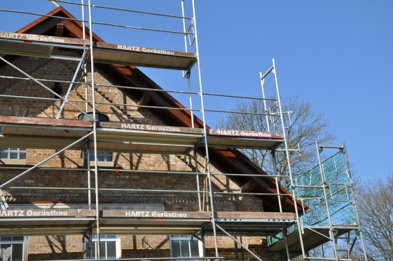 Erneuerung Dachstuhl und Umdeckung