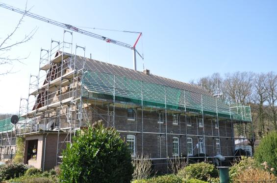 Dach Umdeckung und Dachstuhl erneuert