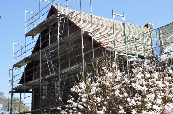 Dachstuhl und Umdeckung