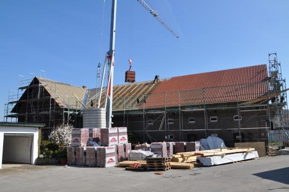 Dachsanierung Dachstuhl und Umdeckung