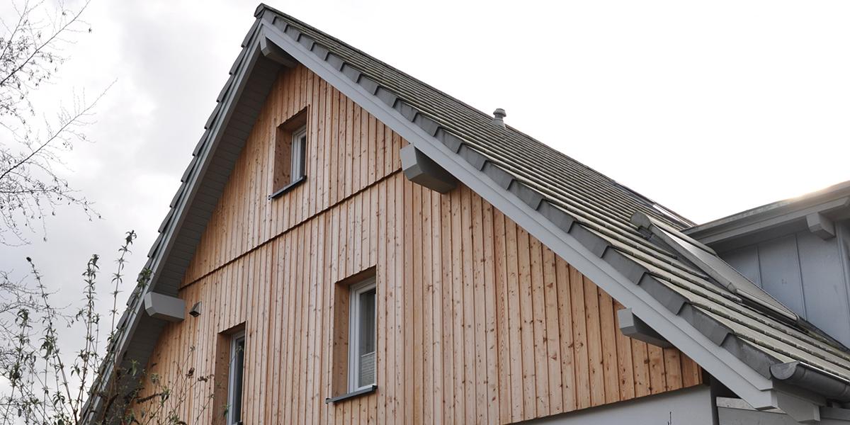 Lärche Holz Fassade