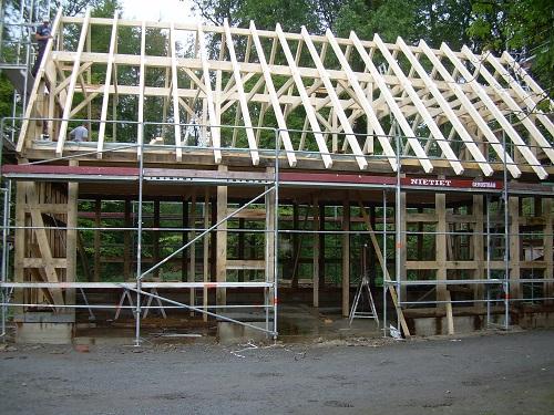 Heger Laischaft Fachwerk Neubau