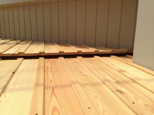 Holzfassade Lärche