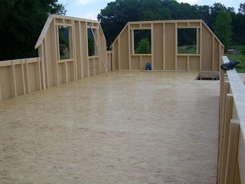 Holzhaus - Holzrahmenbauweise