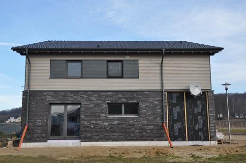 Wohnhaus aus Holz