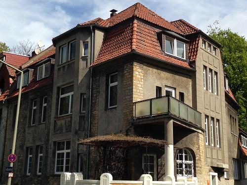 Vorher - Steildach vor Sanierung