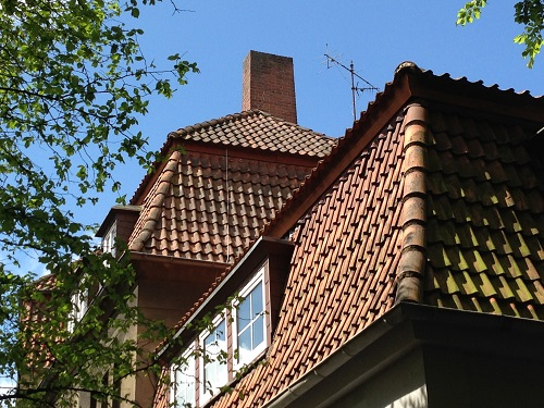 Vorher Referenz Sanierung Steildach Osnabrück
