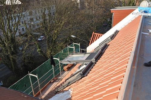MFH Heger Tor Wall - Steildachsanierung