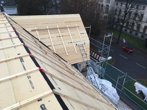 Neues Dach - ZHG Holz & Dach