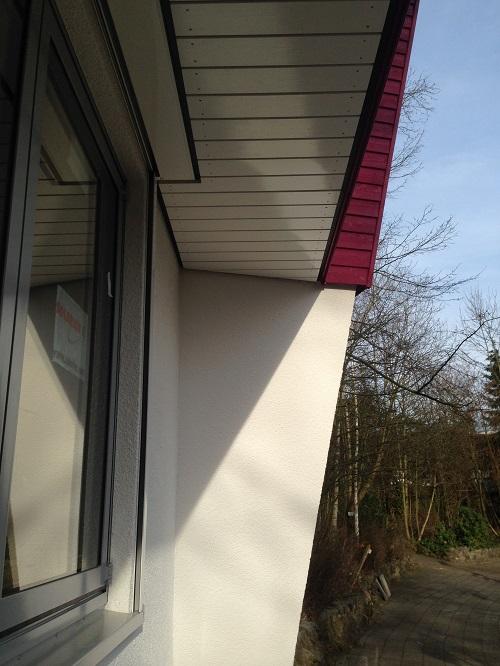 Fassade Fichte Stülpprofil Referenz ZHG Holz & Dach
