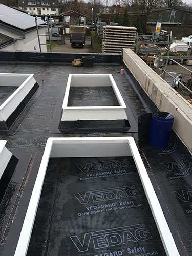 ZHG Holz & Dach Flachdach Sanierung