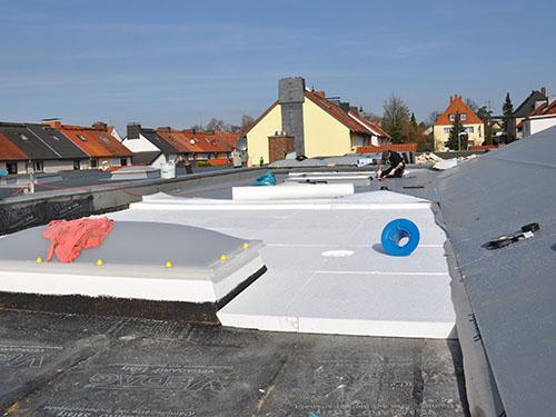 ZHG Holz & Dach Referenz Flachdachsanierung Fenster