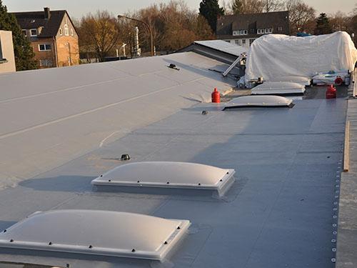 ZHG Holz & Dach Referenz Flachdachsanierung