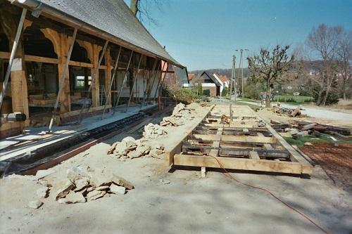 Sanierung eines Fachwerkhauses