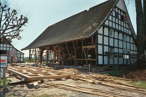 Referenz Sanierung Fachwerkhaus