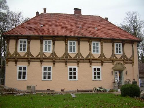 Sanierung Referenz Fachwerk Burg Hopen