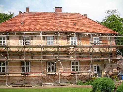 Fachwerksanierung Referenobjekt Burg Hopen